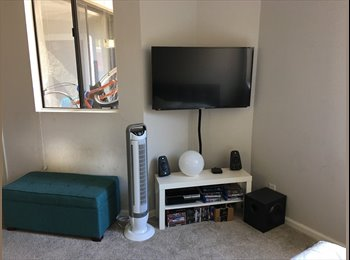 EasyRoommate US - Awesome Bedroom in 2BR in West Hollywood, Hollywood Heights - $1,560 pm