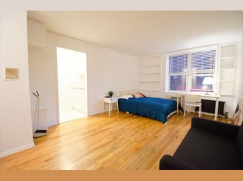EasyRoommate US - Studio Sublet - Furnished and Clean, Yorkville - $2,785 pm