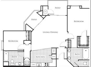 EasyRoommate US - Little Tokyo Apt, Art District, Central DTLA, Private Bedroom Bathroom, Little Tokyo - $1,500 pm