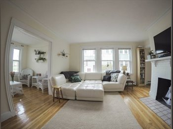EasyRoommate US - Female Roommate Needed in HUGE 3bd 2br, Furnished Apt. for 7/1, Newton - $740 pm