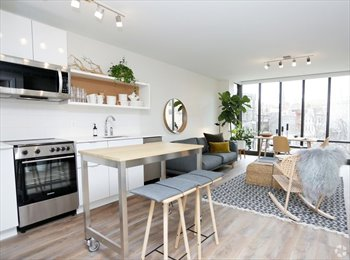 EasyRoommate US - New Luxury one bedroom apartment, Downtown - $1,800 pm