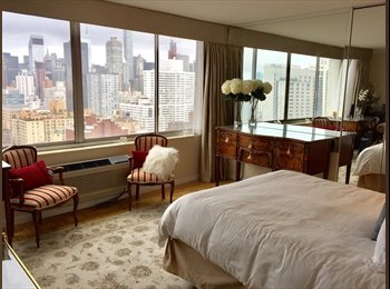 EasyRoommate US - Stunning View, Furnished Rm, Luxury High Rise on East 72nd St, Lenox Hill - $1,900 pm