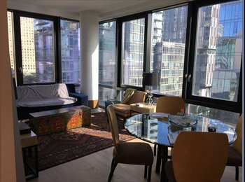 EasyRoommate US - Room w/ private bath available in luxury 2br/2ba apartment in Lincold Square, Lincoln Square - $2,900 pm