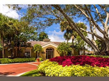 EasyRoommate US - Large bedroom and bath available, Boca Raton - $800 pm