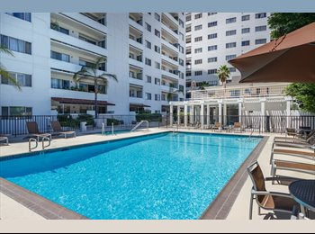 EasyRoommate US - Valet / pool / gym / Master br / Runyon, Hollywood Heights - $1,750 pm