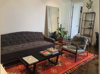 EasyRoommate US - Beautiful Bedroom overlooking Carroll Gardens , Carroll Gardens - $1,500 pm