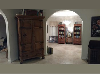 EasyRoommate US - Beautiful large home  with private room/bath avail-- fenced yard, patio and new pool coming soon!, Wilton Manors - $1,300 pm