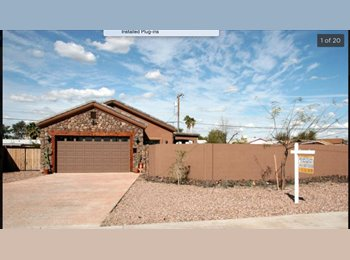 EasyRoommate US - Rooms available in Beautiful House!, Tempe - $475 pm
