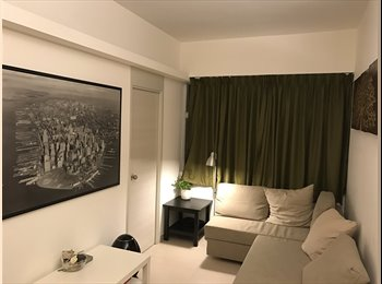 EasyRoommate HK - Great Room Available in Spacious, Clean, Modern and Convenient Flat., Wan Chai - HKD8,500 pcm