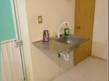 CompartoDepa MX - Habitación para estudiantes., Pachuca - MX$1,200 por mes
