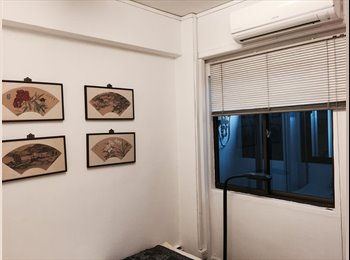 EasyRoommate SG -  MASTER ROOM  in CITY CENTRE 3 MRT 5 MINS AWA, Bras Basah - $1,000 pm