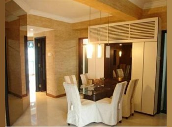 EasyRoommate SG - PLUSH Fully Furnished condo room with PRIVATE BATH, Promenade - $1,450 pm