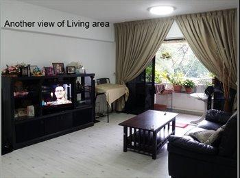 EasyRoommate SG - Vacant - Nature view facing large condo room., Pasir Panjang - $1,300 pm
