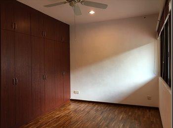 EasyRoommate SG - Master Bedroom for rent @ Tanah Merah MRT, Tanah Merah - $1,200 pm