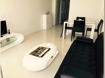 EasyRoommate SG - New DBSS furnishedApartment in excellent location, 1 minutes walk to MRT & Mall., Pasir Ris - $850 pm