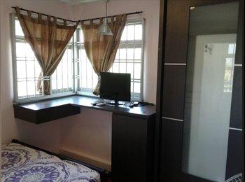 EasyRoommate SG - NEAR Buangkok MRT! MASTER room for rent! Aircon wifi! , Buangkok - $850 pm