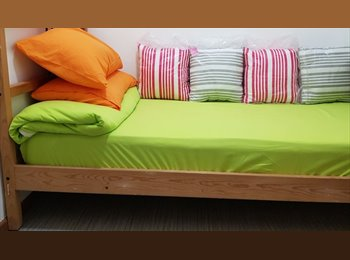 EasyRoommate SG - 24hrs Aircon, 1Gbps free WiFi, Fully Furnished Single Room, Dakota - $650 pm