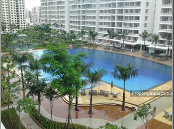 EasyRoommate SG - Master Bedroom at the Centris with attached bathroom, Boon Lay - $3,000 pm