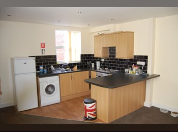 EasyRoommate UK - Room available in modern 2 bedroom apartment, Castleford - £350 pcm