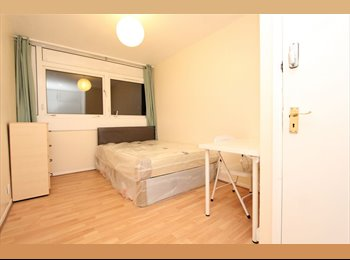 EasyRoommate UK - LOVELY DOUBLE ROOM COUPLES CANARY WHARF !, Cubitt Town - £660 pcm