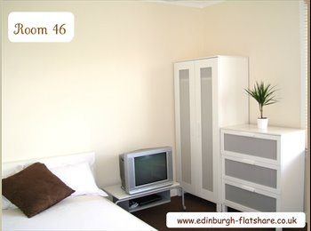 EasyRoommate UK - RM 46 Gorgeous Double Room ALL BILLS INCLUDED IN MONTHLY RENT, Saughton - £450 pcm