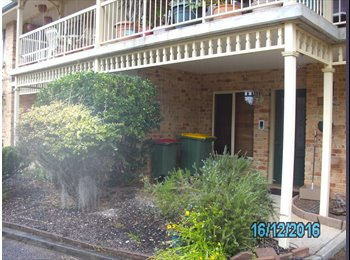 EasyRoommate AU - Furnished Room for Rent in lovely 2br townhouse in bush settinng with district water views, Woy Woy - $180 pw