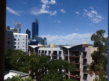 EasyRoommate AU - West Perth Apartment to Share, Perth - $250 pw