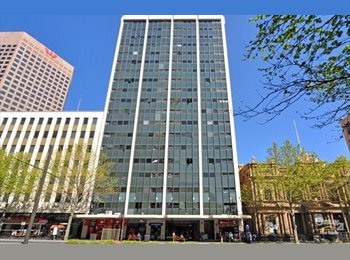 EasyRoommate AU - BUDGET accommodation in the heart of the CBD, Adelaide - $115 pw