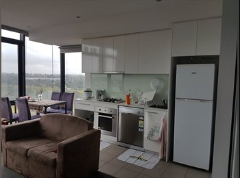 EasyRoommate AU - Great Location, Nice apartment, Amazing View, Parkville - $220 pw