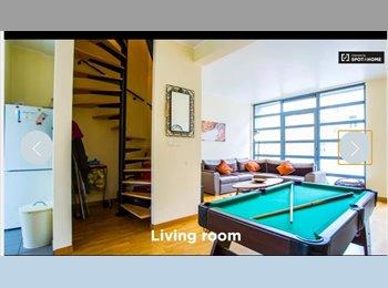 Appartager BE - maison meublée prox place Jourdan, Etterbeek - 600 € pm