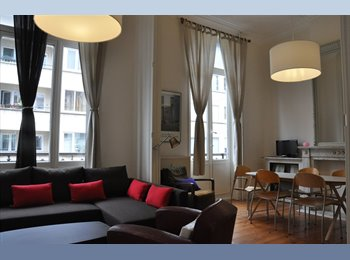 Appartager BE - 150m Square Montgoméry UCL ICHEC Stages comissions, Etterbeek - 820 € pm