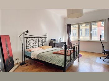 Appartager BE - Large bedroom in furnished, big, & pleasant flat in BXL Center, Bruxelles - 650 € pm