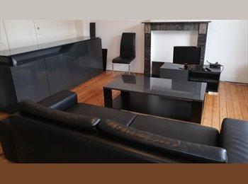 Appartager BE - kot spacieux au dernier etage d'une maison de maitre, Charleroi - 450 € pm
