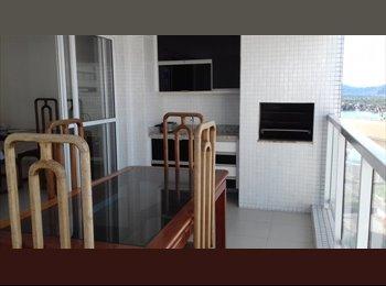 EasyQuarto BR - Alugo Apartamento Ponta da Praia - SantosSP - 111m2 - 3 quartos e 2 garagens, Santos - R$ 2.800 Por mês