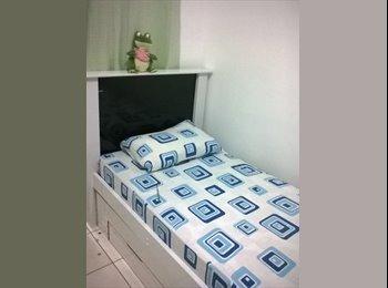 EasyQuarto BR - Quarto em apartamento mobiliado, Goiânia - R$ 350 Por mês