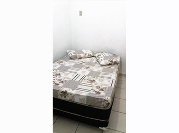 EasyQuarto BR - QUARTOS AMBIENTE TRANQUILO E FAMILIAR, Santos - R$ 800 Por mês