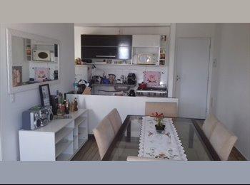 EasyQuarto BR - Quarto e banheiro individual ótimo ap, São Bernardo do Campo - R$ 830 Por mês