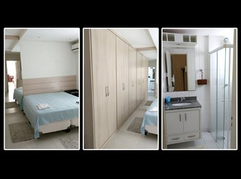 EasyQuarto BR - Suite Casal Zona Sul, São José dos Campos - R$ 700 Por mês