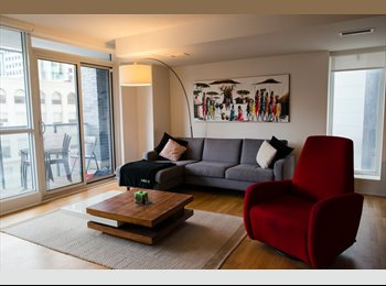 EasyRoommate CA - Downtown Fully Furnished Room for Rent, Toronto - $1,600 pcm