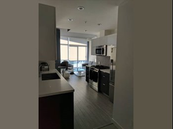 EasyRoommate CA - $1300 Downtown - Modern Condo, Clean, Furnished - August 1st - $1300, Vancouver - $1,300 pcm