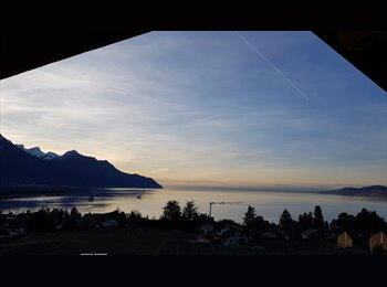 EasyWG CH - Nice room's all furnished in Villeneuve/Montreux, Vevey - 1'000 CHF / Mois
