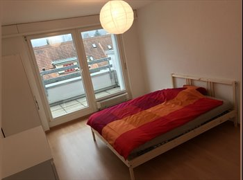 EasyWG CH - 1. Sept 17m2 Balcon, WIFI, new Furnitures all Inclusive, Bern - 720 CHF / Mois