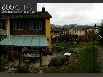 EasyWG CH - WG-Zimmer in wunder schöner Sonniger ruhiger Lage in Luzern, Lucerne / Luzern - 600 CHF / Mois