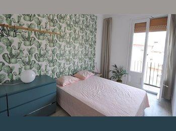 EasyPiso ES - HABITACION  DOBLE con balcón  privado, Barcelona - 500 € por mes
