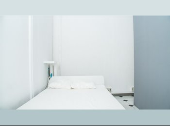 EasyPiso ES - Habitaciones con cama DOBLE y BALCON en VIA LAIETANA!!!!!, Barcelona - 500 € por mes