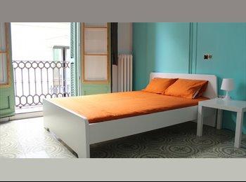 EasyPiso ES - Habitaciones con BALCON en VIA LAIETANA!!!, Barcelona - 470 € por mes