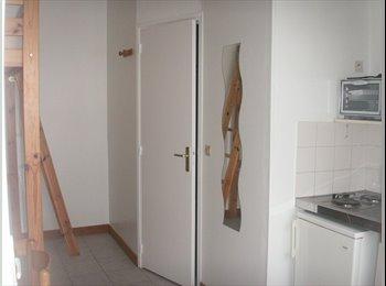 Appartager FR - studio meublé plein centre ville, Quimper - 290 € /Mois