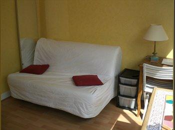 Appartager FR - Chambre ensoleillée 13 m2, 19ème Arrondissement - 500 € /Mois