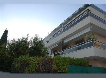 Appartager FR - Nice ouest dans joli 3 pièces  neuf,  chambre a LOUER 550CC AVEC GARAGE, Saint-Laurent-du-Var - 550 € /Mois