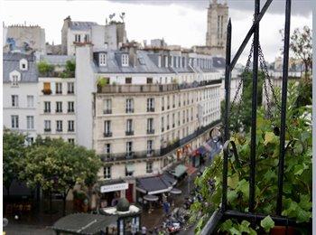 Appartager FR - Charming room to rent in central Paris, Paris - Ile De France - 800 € /Mois